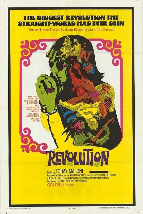 Revolution (1968 film) Mother Earth Revolution 1968 Unreleased Soundtrack Revolution