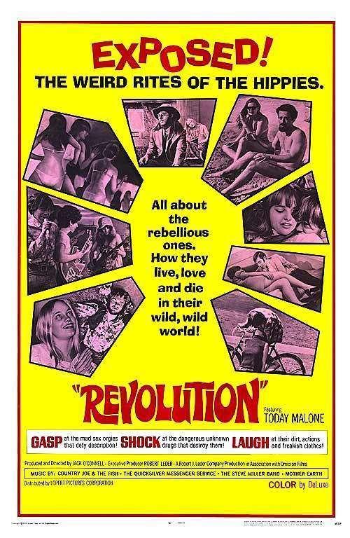 Revolution (1968 film) REVOLUTION DVD 1968 Movie on DVD San Francisco Hippies LSD