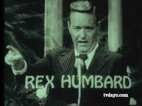 Rex Humbard REX HUMBARD 1973 TV MINISTER CLASSIC TV SHOWS COMMERCIALS