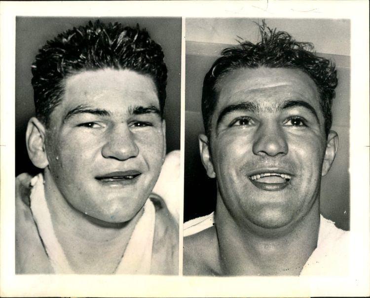 Rex Layne Lot Detail 1951 Rocky Marciano Rex Layne The Sporting News