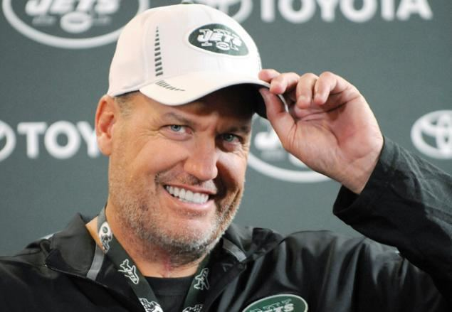 Rex Ryan Rex Ryan Devours 6 Pounds Of Buffalo Wings To Motivate