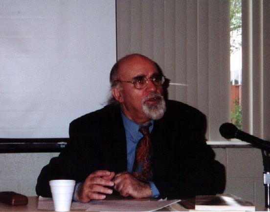 Reza Baraheni Dr Reza Baraheni Lecturing for Persia House of Michigan