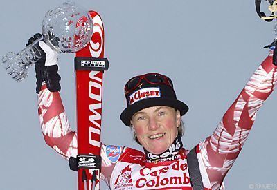 Régine Cavagnoud skionlinech Vor zehn Jahren starb Regine Cavagnoud