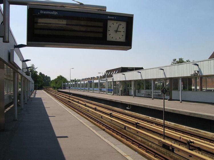 Rhoon metro station