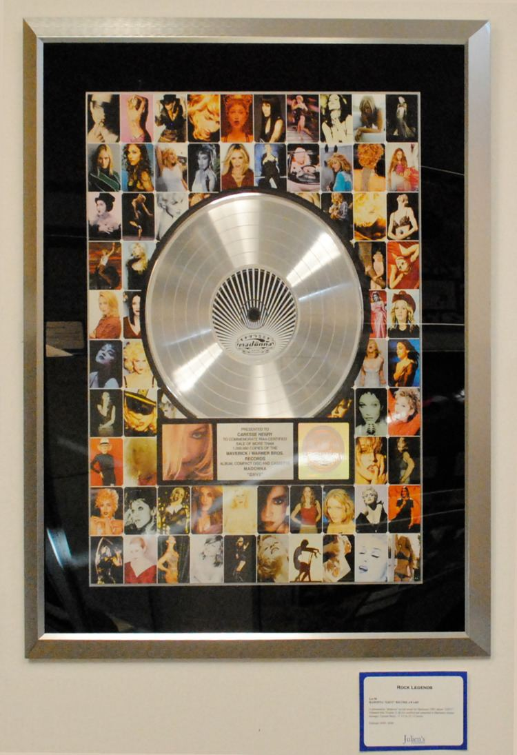 RIAA certification