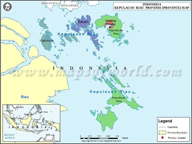 Riau Islands Province in the past, History of Riau Islands Province