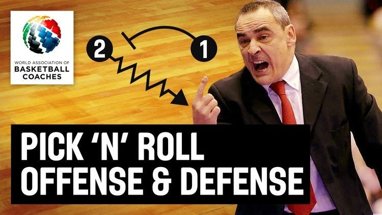 Ricard Casas Pick n Roll Offense and Defense Alfred Julbe and Ricard Casas