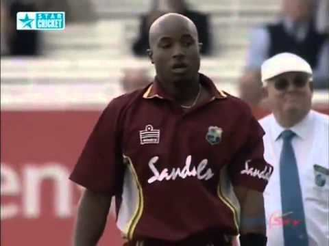 Ricardo Powell Cheat New Zealand v West Indies at Lords 2004 Natwest