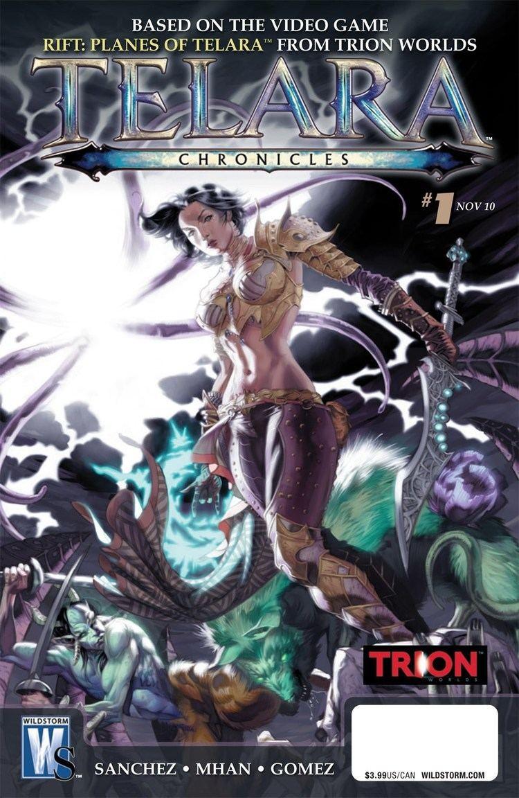 Ricardo Sanchez (video games) RIFT Telara Chronicles Comic Book by Ricardo Sanchez