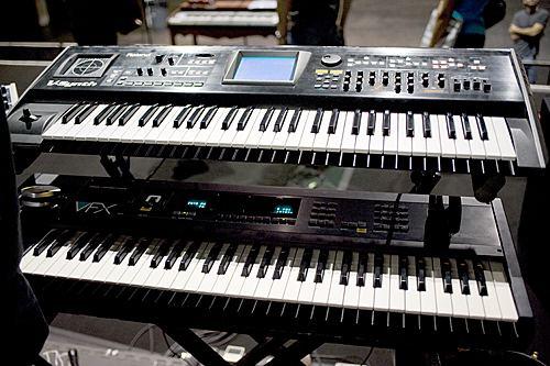 Richard Barbieri MusicPlayerscom Features Keyboards Richard Barbieri
