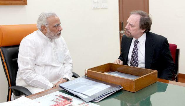 Richard Benkin Dr Richard Benkin pays courtesy visit to CM