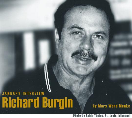 Richard Burgin (writer) wwwjanuarymagazinecomprofilesprimagesRichardB