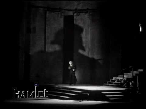 Richard Burton's Hamlet Hamlet and The Ghost Richard Burton John Gielgud 1964 YouTube