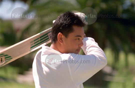 Richard Chee Quee Fairfax Photos Portrait of cricketer Richard CheeQuee