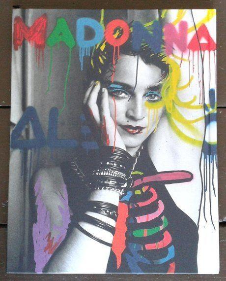 Richard Corman (photographer) Madonna NYC83 Photo Book By Richard Corman madonnalicious