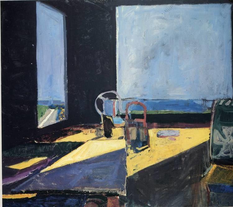 Richard Diebenkorn Interior with View of Ocean Richard Diebenkorn WikiArtorg