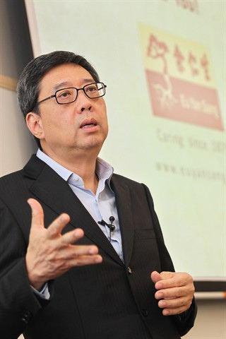 Richard Eu Leadership Dialogue Series with Richard Eu Group CEO Eu Yan Sang
