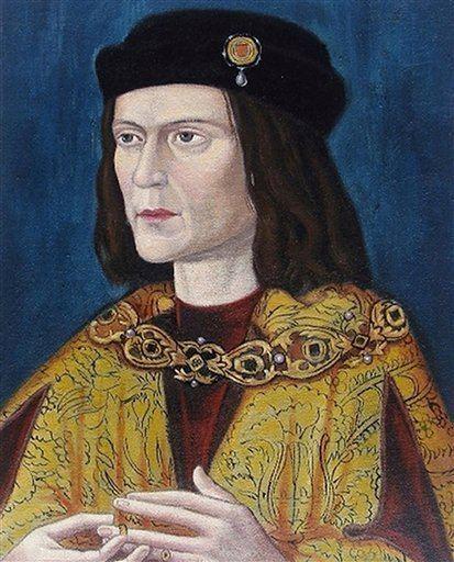 Richard I of England England39s King Richard III remains found clevelandcom