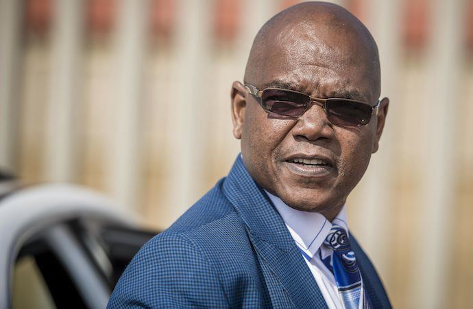 Richard Mdluli Former crime intelligence boss Richard Mdluli walks free