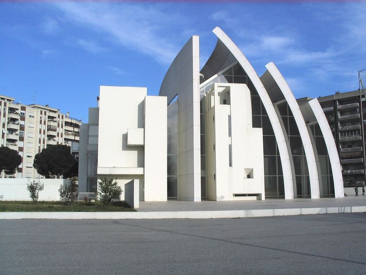 Richard Meier Iconic Modern ArchitectureJubilee Church in Rome by
