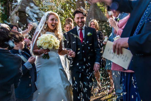 Richard Mylan Waterloo Road star Richard Mylan shares his gorgeous wedding snaps