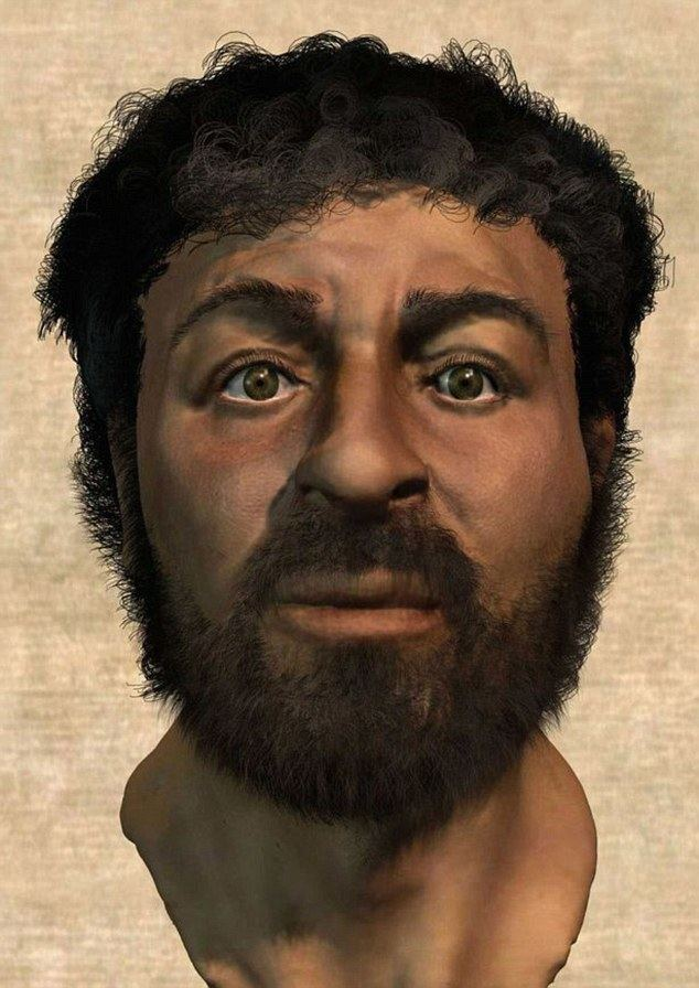 Richard Neave Jesus Christs face recreated using Semite skulls by Richard Neave