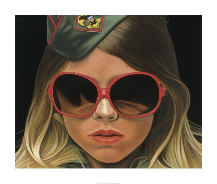 Richard Phillips (American painter) Gossip Girl art Scout by Richard Phillips Art Pinterest