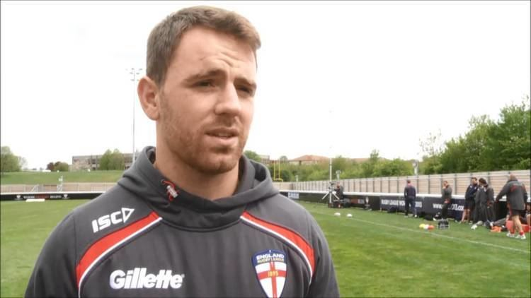 Richie Myler England39s Richie Myler in camp at Loughborough YouTube