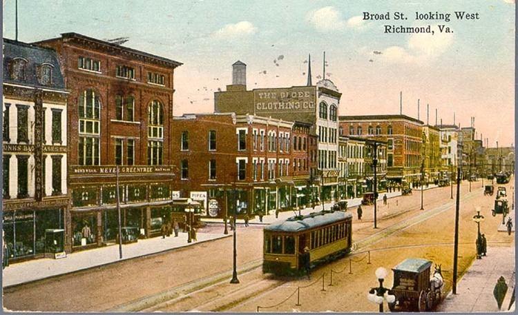 Richmond, Virginia in the past, History of Richmond, Virginia