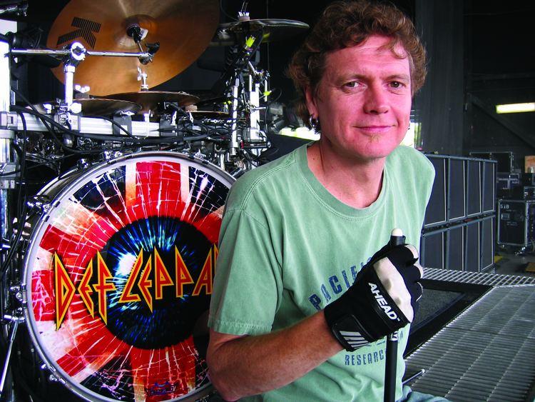 Rick Allen (drummer) rick allen drummer pictures Google Search Drummers Pinterest
