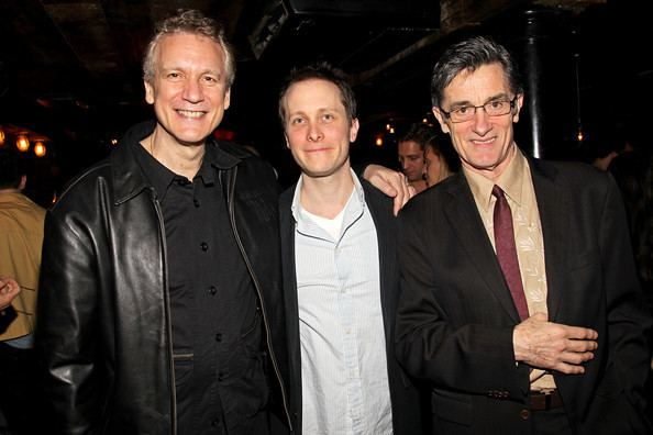 Rick Elice Roger Rees and Rick Elice Photos Broadway39s quotSubmissions