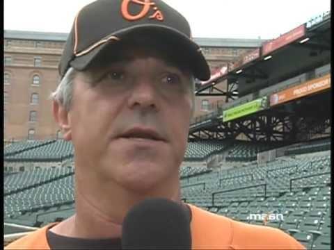 Rick Kranitz Jim Hunter talks with pitching coach Rick Kranitz about