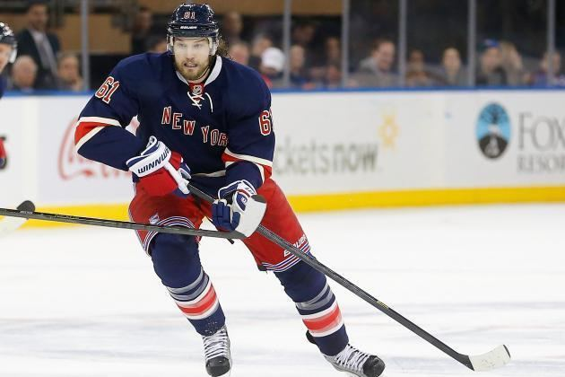 Rick Nash Rangers and Blue Jackets on Unexpected Paths 1 Year After