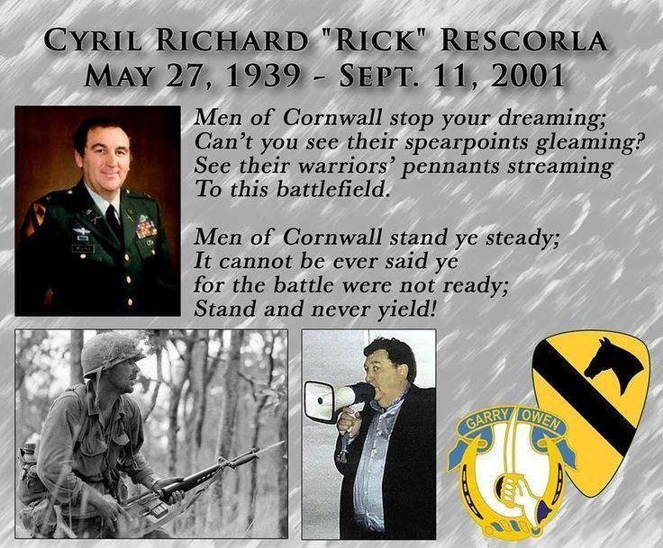 Rick Rescorla Rick rescorla on Pinterest Vietnam War War and Battle of ia drang