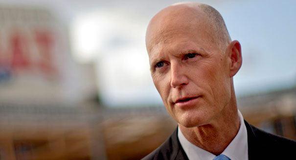 Rick Scott Scott plans 100M campaign vs Crist POLITICO