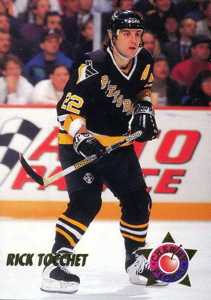 Rick Tocchet Rick Tocchet Player39s cards since 1991 1995 penguins