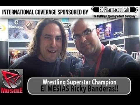 Ricky Banderas El Mesias Ricky Banderas Talks Bodybuilding Wrestling YouTube