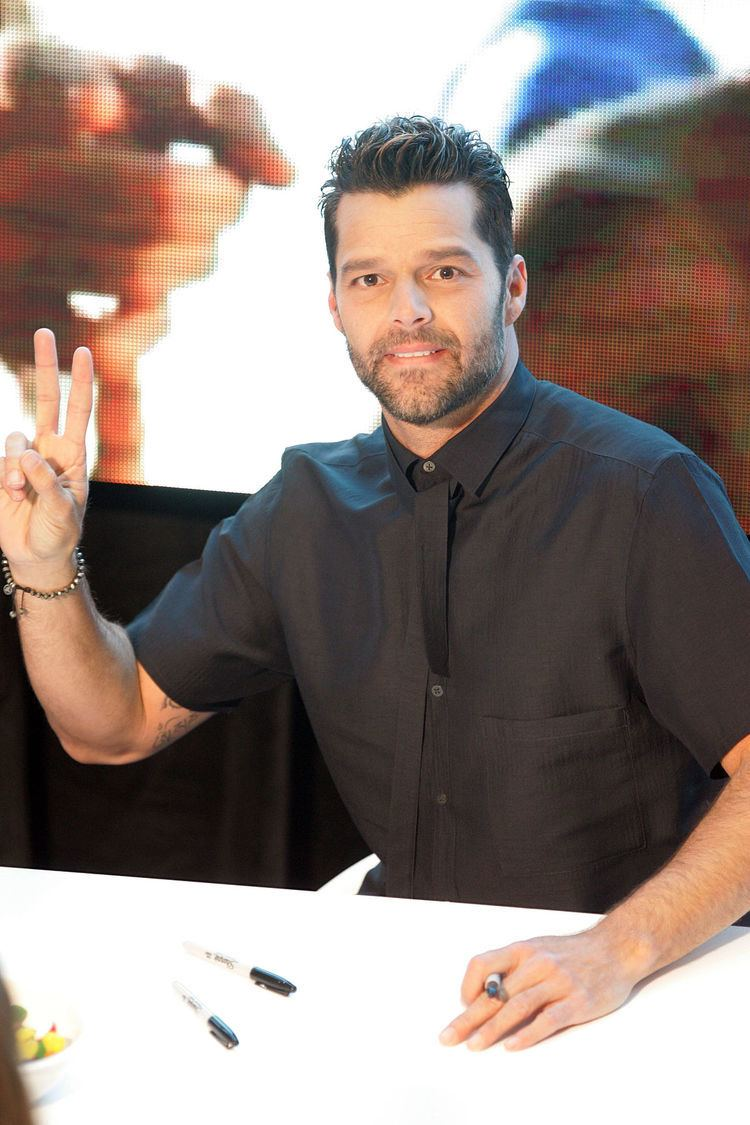 Ricky Martin Ricky Martin Wikipedia