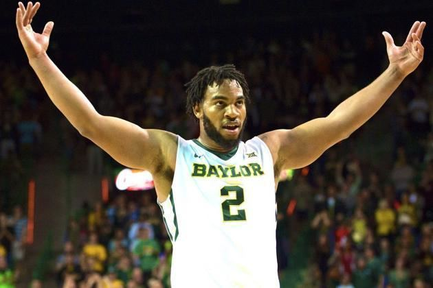 Rico Gathers Baylor39s Rico Gathers a Man Among Boys in Basketball May