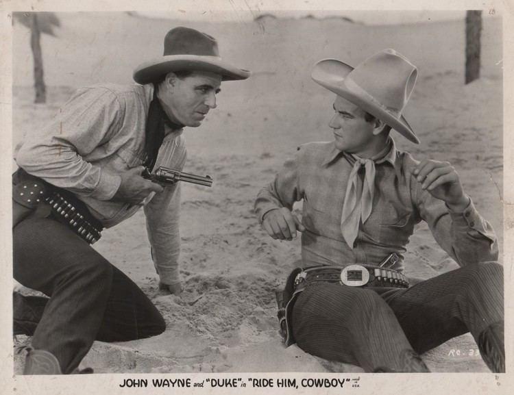 Ride Him, Cowboy Ride Him Cowboy 1932 Page 2 The 1930s John Wayne Message