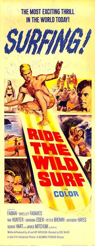 Ride the Wild Surf RIDE THE WILD SURF DVD 1964 Movie on DVD Jan and Dean RIDE