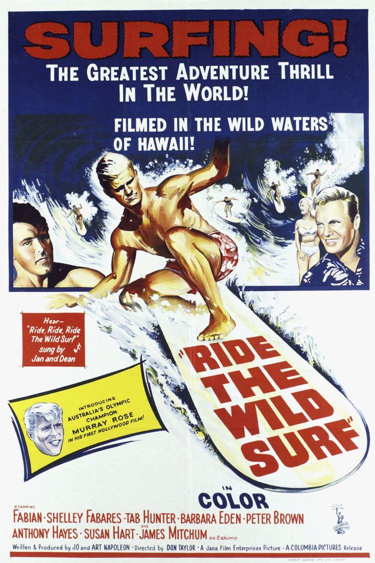 Ride the Wild Surf wwwgstaticcomtvthumbmovieposters1835p1835p