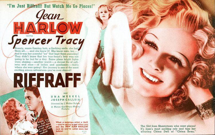 Riffraff (1936 film) Julie Reviews Jean Harlows Riffraff 1936