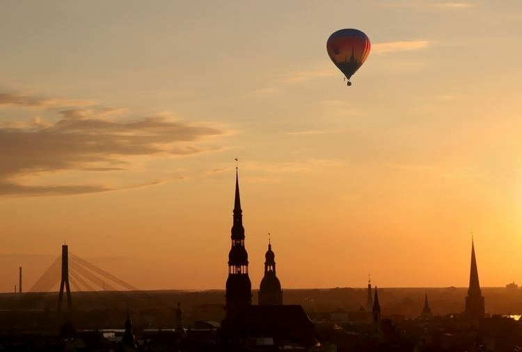 Riga Beautiful Landscapes of Riga