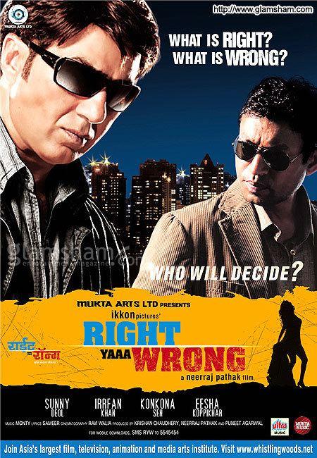 Right Yaaa Wrong Movie Poster 1 glamshamcom