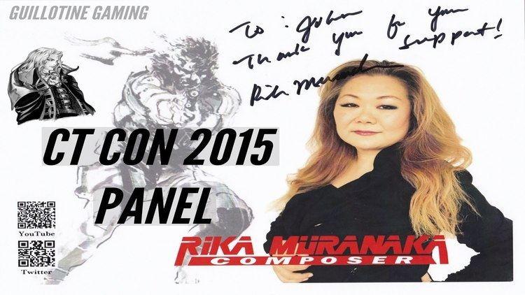 Rika Muranaka CTCON2015 PANEL Rika Muranaka Composer Metal Gear