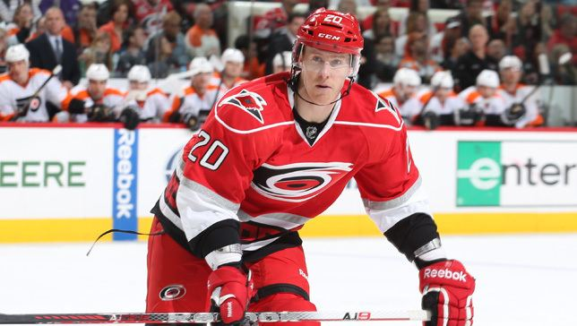 Riley Nash Hurricanes Agree to Terms with Riley Nash Carolina