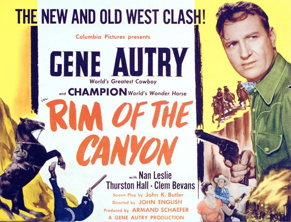 Rim of the Canyon GeneAutrycom Film Info Rim of the Canyon