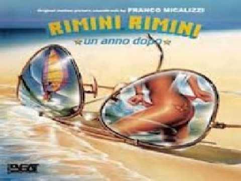 Rimini Rimini Franco Micalizzi RIMINI RIMINI UN ANNO DOPO 1988 colonna sonora