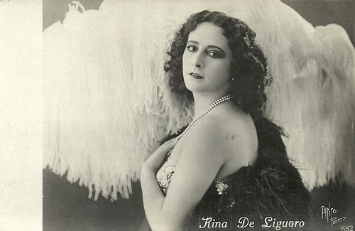 Rina De Liguoro European Film Star Postcards Rina De Liguoro